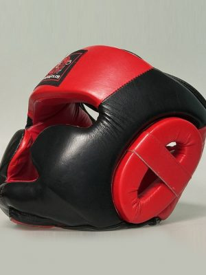 Full-Protection-Headgear-Best-MMA-Leather
